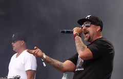 B-Real (peterkelly) Tags: digital panasonic lumix zs50 montreal quebec canada northamerica parcjeandrapeau music musician osheaga 2016 festival concert cypresshill breal mc rap hiphop microphone mike singer singing hat sunglasses tattoos tattoo goatee