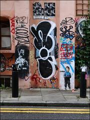 Nigel (Alex Ellison) Tags: eastlondon urban graffiti graff boobs nigel tnf throwup throwie
