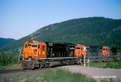 QCM 82 Mile-31 QC 7-15-2000 (Frater Operator) Tags: quebeccartiermining chemindefer alco