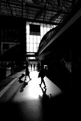 Reflections of Cordoba (daniel_james) Tags: 2016 berlin germany europe canon1022mm hauptbahnhof trainstation megastructures blackandwhite silhouette passengers communters