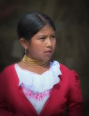 Otavalena girl (krheesy) Tags: ecuador otavalo southamerica candid girl portrait