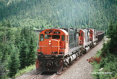 Quebec Cartier Mining 78 Mille-31 7-14-2000 (Frater Operator) Tags: quebeccartiermining qcm alco mlw