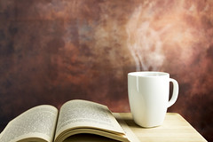 Coffee and Book (vuralyavas) Tags: table wood wooden coffee cup mug leisure morning day filter espresso book reading white colours indoor home interior