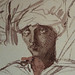 CHASSERIAU Théodore,1846 - Arabes (drawing, dessin, disegno-Louvre RF24410) - Detail 16