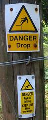 IMG_8168 (rowchester) Tags: danger man peril sign warning denham wood devon forestry commission
