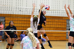 IMG_7376 (SJH Foto) Tags: girls volleyball high school scrimmage northstar boswell pa pennsylvania action shot