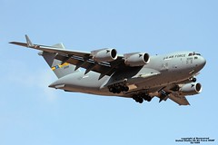02-1099 LMML 16-09-2016 (Burmarrad) Tags: 021099 lmml 16092016 airline united states us air force usaf aircraft boeing c17a globemaster iii registration cn p99