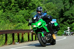 Kawasaki ZRX 1608203319w (gparet) Tags: bearmountain bridge road scenic overlook motorcycle motorcycles goattrail goatpath windingroad curves twisties outdoor vehicle