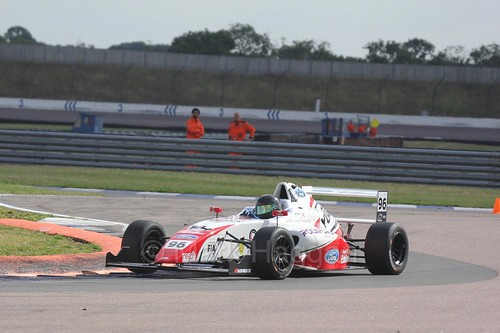 Jack Butel in British F4 at Rockingham, August 2016