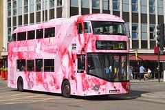 LT 281 (LTZ 1281) Go-Ahead London New Routemaster (hotspur_star) Tags: londontransport londonbuses londonbus londonbuses2016 borisbus borismaster newbusforlondon newroutemaster nb4l tfl transportforlondon hybridbus hybridtechnology busscene2016 doubledeck goaheadlondon lt281 ltz1281 alloveradvert advertlivery advertisinglivery advertbus deliveroo 12 wrightbus