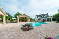 After 2016 (10) (The Sharper Cut Landscapes) Tags: belgardhardscapes patio pavers plantings paverdesign pool pavilion walkway steps seatwall retainingwall landscapedesign landscaping landscapecompany landscapelighting thesharpercutlandscapes thesharpercut