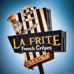La Frite Cafe (Shakes The Clown) Tags: 500px cafe california canon5dmarkii cuisine flickr font food french illumination lights losangeles marcshur neon old restaurant retro sanfernandovalley signgeeks signlanguage signage signs smugmug socal southerncalifornia typography venturablvd vintage marcshurphotographycom