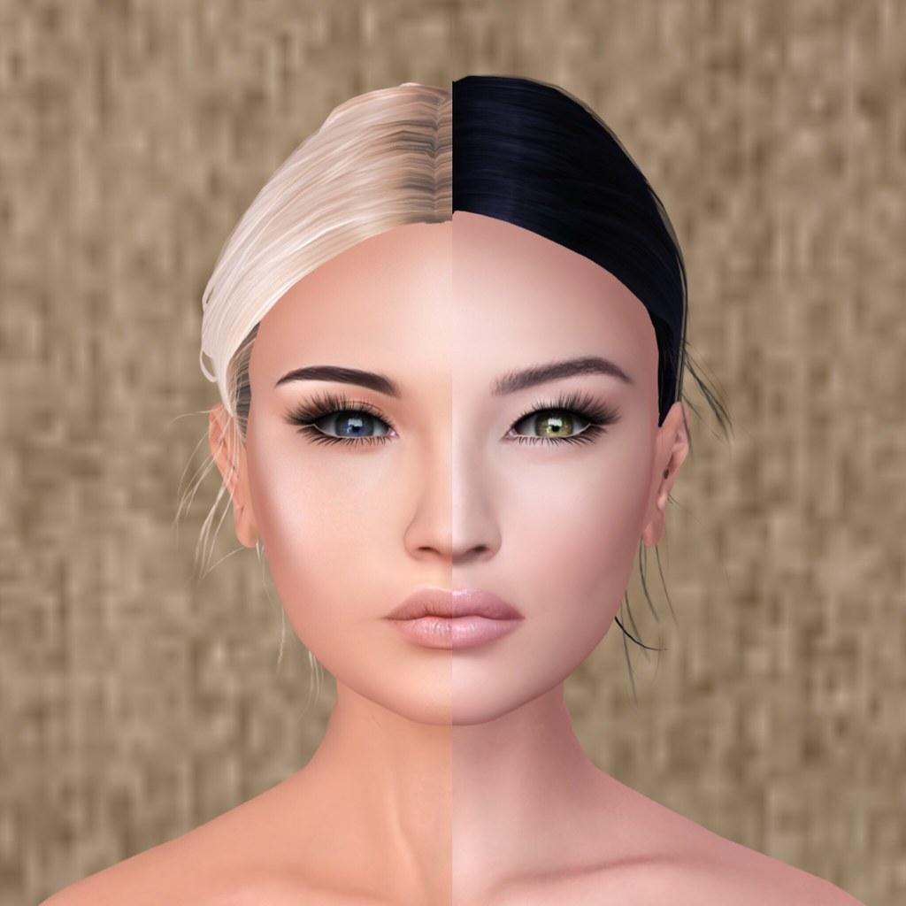 Half asian avatar