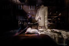 singer (Ivan Peki - www.ivanpekic.com) Tags: singer song ghost spirit shop reflection dark belgrade