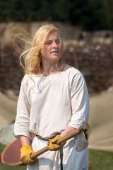 blond viking 2 (laughingrasputin) Tags: militaryodyssey detling kentshowground reenactors viking blondeviking