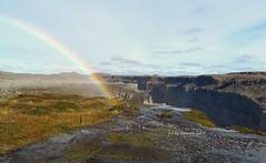 Cascada Dettifoss-Islandia. El mayor salto de agua de Europa (lameato feliz) Tags: arcoiris can dettifoss islandia cascada jkulsrgljfur paisaje naturaleza