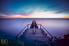 Industrial Sunrise (ianbrodie1) Tags: pipe alcan lynemouth northumberland seascape nikon d750 haida 10 stop old industrial water long exposure rocks colour sunrise