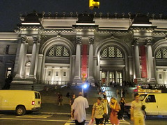 Metropolitan Museum of Art Night Fountains 5066 (Brechtbug) Tags: metropolitan museum art lobby exterior facade front entrance stairs outside building new york city summer 09102016 nyc cityscape east skyline urban afternoon july 2016 arts gallery buildings sculpture architecture statue crowd crowds met museums manhattan uptown 5th ave fifth avenue arch arches nite night time evening fountain fountains