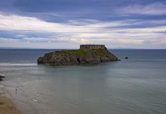 The Rock (Meander Khedekar) Tags: sea sky blue sand water d600