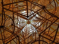 Bicycle Chandelier, 2015 (failing_angel) Tags: 181116 london cityofwestminster royalacademy aiweiwei piccadilly bicyclechandelier bicycles crystals