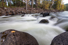Big Creek Long Exposure (chambers.kyler) Tags: canon longexposure stream bigcreek fall goldenhour chilkotin rafting whitewater