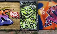 graffiti amsterdam (wojofoto) Tags: ndsm graffiti amsterdam nederland netherland wojofoto wolfgangjosten hi5