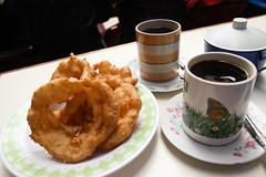 IMG_0010 (rovinglight) Tags: lake titicaca coffee breakfast religious bolivia copacabana sopapilla sopaipilla lapazdept friedcopacabanalapazdeptbolivia