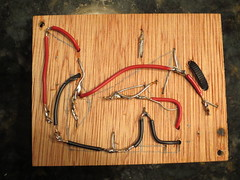 Underside of crossover (burritobrian) Tags: diy speaker boombox overnightsensations speakerbuild sd215a88
