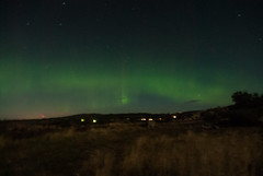 Northern Light over Kmpersvik in Southern Sweden (juliacreinhart) Tags: light sweden sverige northern norrsken fjllbacka kmpersvik