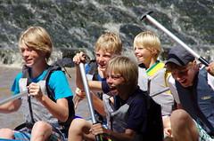 7.8.12 Vyssi Brod Weir 5 200 (donald judge) Tags: river kayak republic czech south canoe raft bohemia vltava brod weir vyssi