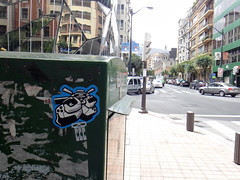 bilbao 2012 (c c c) Tags: spain stickers bilbao ccc 14bolt