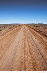 Flinders Ranges (john white photos) Tags: road landscape drive flat farm australian dry australia dirt drought outback remote straight dust southaustralia gravel flindersranges
