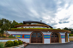 York Straw Bale House (SeanKmaxweLL Photography) Tags: york house paint peace pennsylvania room straw plaster pa lime hay hindu stucco strawbalehouse mississippilime