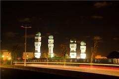 Nuit Corniche (10) (Alioune Mamour Photographies) Tags: arbres corniche dakar nuit lumires mosque sngal