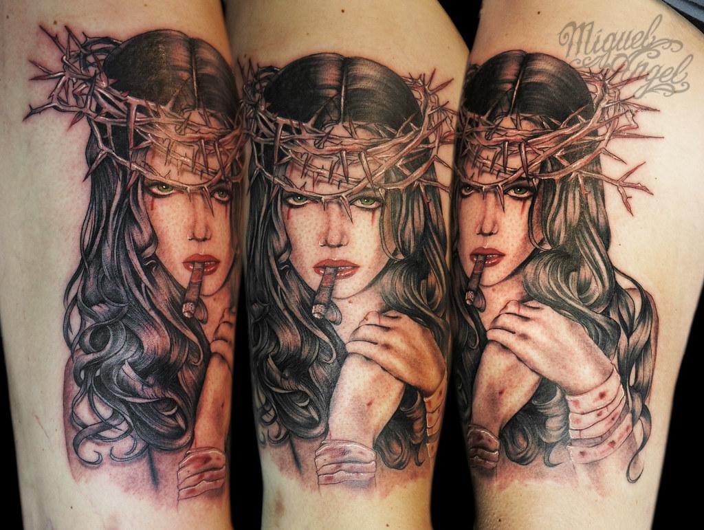 """dd6be4c68 Brian Viveros® """"The Last Temptation"""" tattoo (Miguel Angel tattoo)  Tags"""