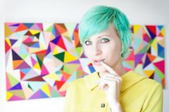 :) (333Bracket) Tags: autumn london girl triangles hair rainbow colours fullframe ef50mm14 333bracket canon5dmk2