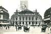 Paris - Opéra (1906 Postcard) (roger4336) Tags: paris france opera carriage postcard 1906 opéra oldpostcard placedelopéra