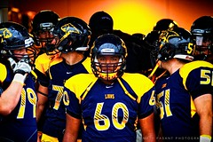 Friday Night Lights - PCA vs Royce City (Matt Pasant) Tags: blue yellow football focus highschool lions lockerroom defense intensity fridaynights prestonwood offense canonef70200mmf28lis prestonwoodchristianacademy