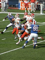 Kyle Williams Sacks Matt Cassel (MattBritt00) Tags: ny newyork sports football buffalo buffalobills bills stadium nfl quarterback kansascity sack chiefs afc americanfootball orchardpark footballstadium kansascitychiefs ralphwilsonstadium mattcassel markanderson quarterbacksack nationalfootballleague kylewilliams americanfootballconference thechallengefactory marcelldareus