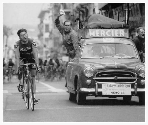 Raymond Poulidor Wins Milan - San Remo, 1961.