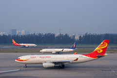 Three Generations Liveries of Hainan Airlines (rickihuang) Tags: china new old plane three airport aircraft aviation capital group beijing ground an international civil airbus  boeing  generations winglet airlines hainan hu  a330 chang airliner 737 wl livery  243  cgn pek      zbaa  hna chh  2z            b5181  84p b6519 8fh b5687