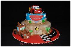 Cars (Nuvole di Zucchero di Katia) Tags: birthday boy cars cake pixar sicilia decorazione fondant pdz cricchetto