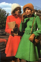 The 1970s-1974 Jours de France-Autumn fashion (april-mo) Tags: redcoat greencoat 70sstyle the70s the1970s vintagemagazine 1970sfashion 1970scoat vintagefrenchmagazine 1974fashion 1974autumnfashion 1970swintercoat