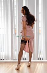 Just a peek (Natassia Crystal) Tags: drag tv highheels cd crossdressing tgirl transgender transvestite crossdresser crossdress tg