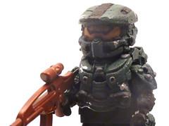 LEGO Custom Halo 4 Master Chief (Legogirl09) Tags: lego chief halo master armor figure custom brickarms