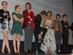 "Q&A, ""The Perks of Being a Wallflower"" World Premiere (larry-411) Tags: emmawatson maewhitman theperksofbeingawallflower stephenchbosky ezramiller reecethompson loganlerman ninadobrev johnnysimmons"