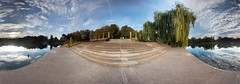 Adolf-Mittag-See im Oktober - 360 (diwan) Tags: city sky panorama lake nature clouds canon germany geotagged deutschland eos see place stitch natur himmel wolken magdeburg stadt landschaftspark panoramix 2012 360 ptgui saxonyanhalt sachsenanhalt rotehorn adolfmittagsee canoneos650d spivpano geo:lon=11643274 geo:lat=52118371