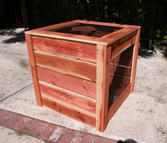 "1-Bin Redwood Compost Bin - closed • <a style=""font-size:0.8em;"" href=""https://www.flickr.com/photos/87478652@N08/8048275860/"" target=""_blank"">View on Flickr</a>"