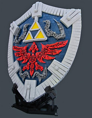 Hylian Shield (Bolt of Blue) Tags: lego nintendo link zelda remi legendofzelda moc hylianshield