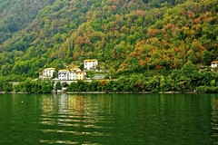 AUTUMN IN ITALY (ONETERRY. AKA TERRY KEARNEY) Tags: art architecture autumn boats canon culture cathedrals churchs docks daylight explore europe flickr fields flowers gardens geotagged heritage history hills italian italy kearney skyline sky lakecomo lakes museum nature night oneterry october people parks river reflections ships sun sunshine trees terrykearney urban unesco wildlife water winter 2012 ballagio geo:lat=4598856 geo:lon=9260662